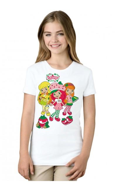Детская футболка Шарлотта Земляничка