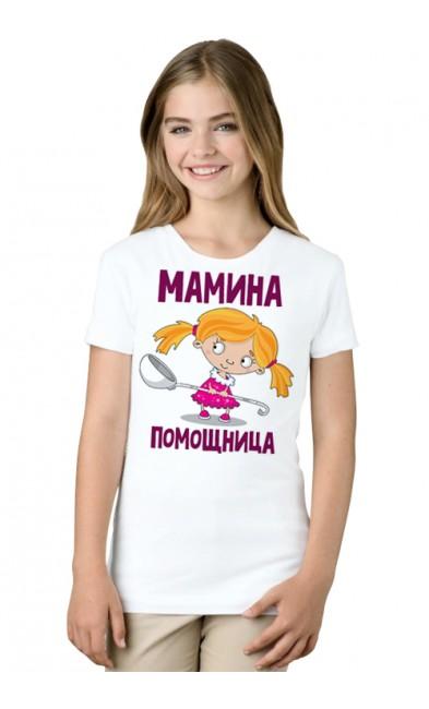 Детская футболка Мамина помощница