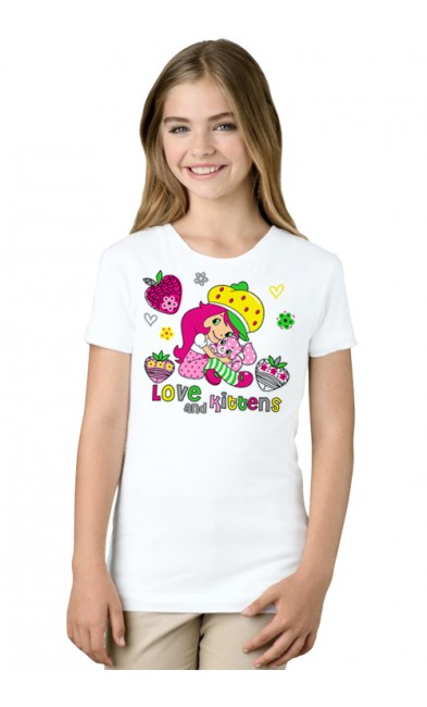 Детская футболка Love and kittens