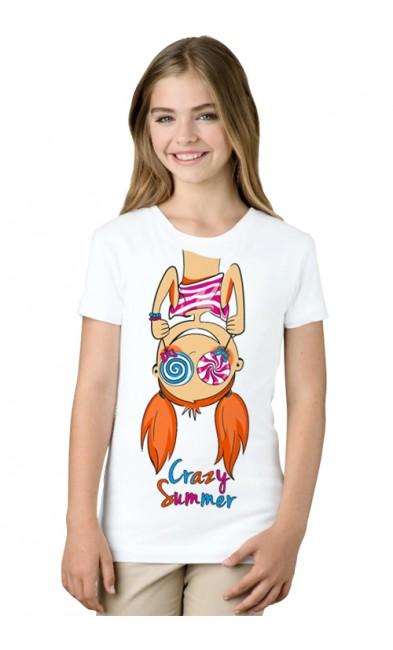 Детская футболка Crazy Summer