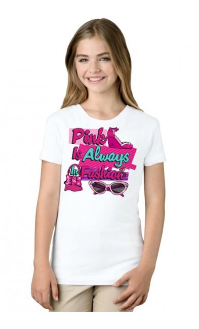 Детская футболка Pink in Always Fashion