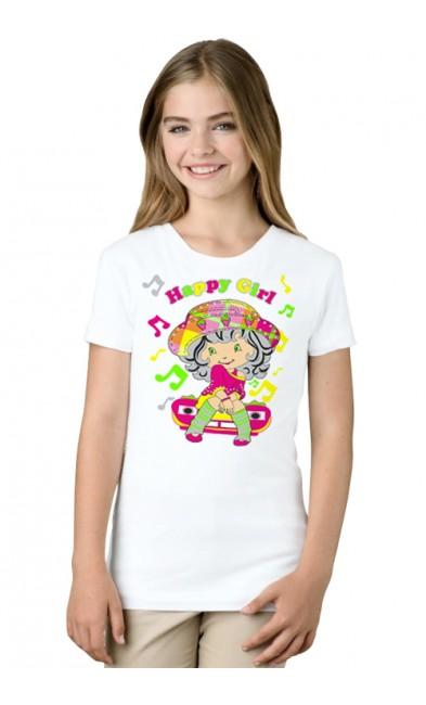 Детская футболка Happy Girl