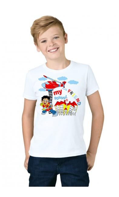 Детская футболка My school friend