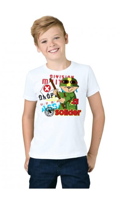 Детская футболка Solider