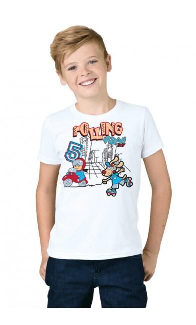 Детская футболка Rolling