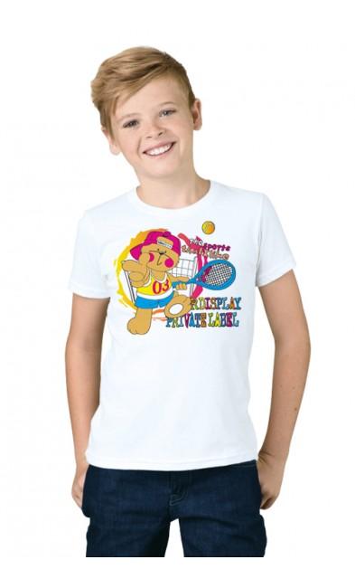 Детская футболка Теннисист
