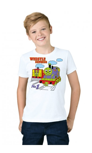 Детская футболка Паровозик Томас