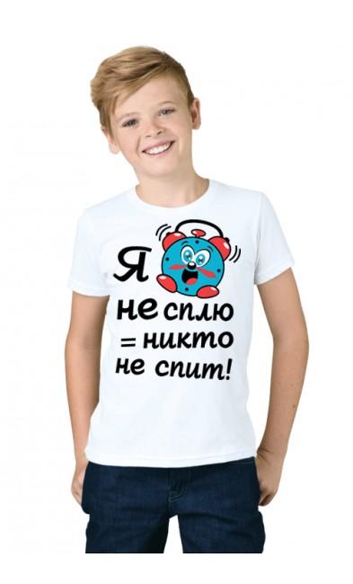 Детская футболка Я не сплю = никто не спит!