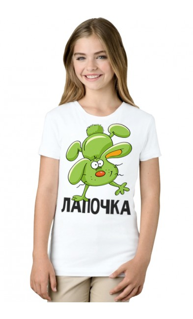 Детская футболка Лапочка