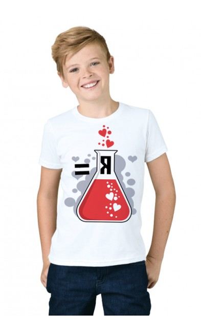 Детская футболка Сила + Красота = Я