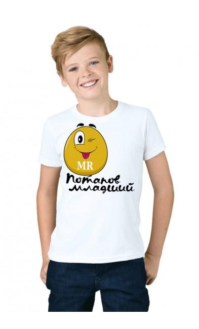 Детская футболка Потапов младший
