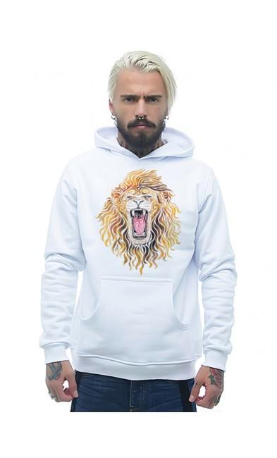 Мужская толстовка Лев