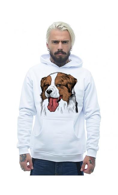 Мужская толстовка Собака