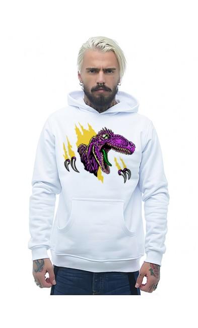 Мужская толстовка Динозавр