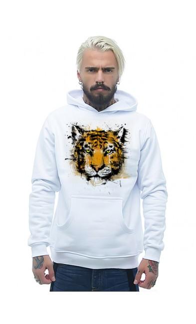 Мужская толстовка Тигр