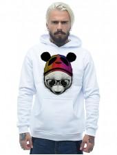 Панда в шапке