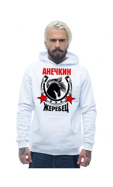 Мужская толстовка Анечкин жеребец