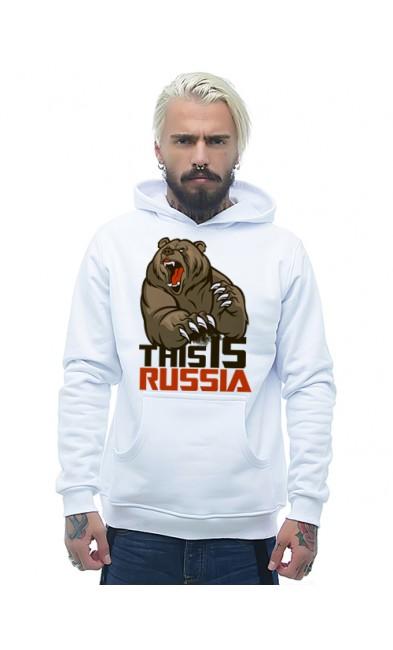 Мужская толстовка This is RUSSIA