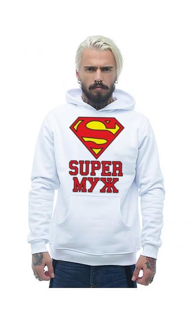 Мужская толстовка SUPER МУЖ