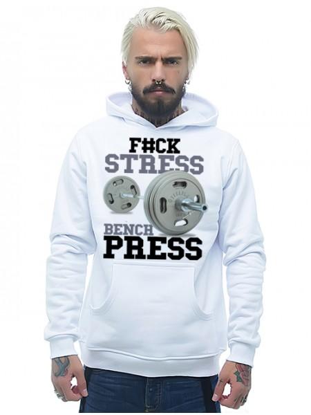 F#CK STRESS BENCH PRESS