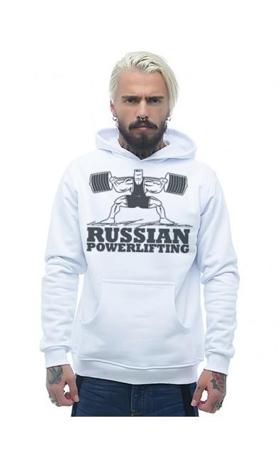 Мужская толстовка RUSSIAN POWERLIFTING