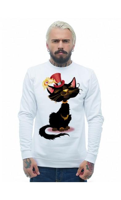 Мужская свитшоты Коты