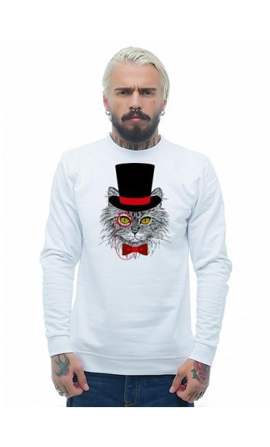 Мужская свитшоты Кот