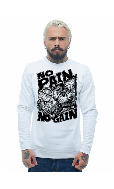 Мужская свитшоты NO PAIN NO GAIN