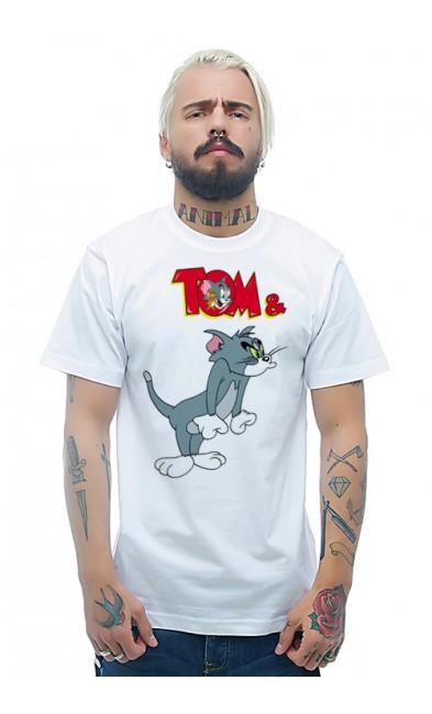 Мужская футболка TOM & JERRY