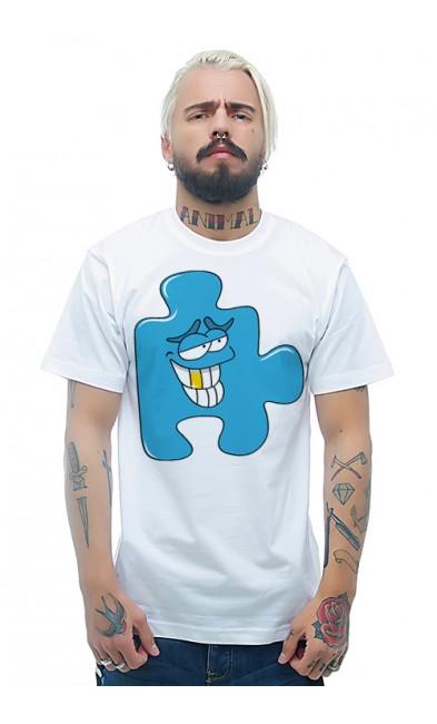 Мужская футболка Пазл