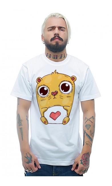 Мужская футболка Хомяк-хозяин