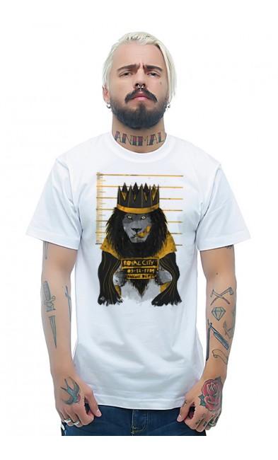 Мужская футболка Король - лев