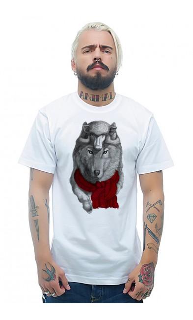 Мужская футболка Двухголовый