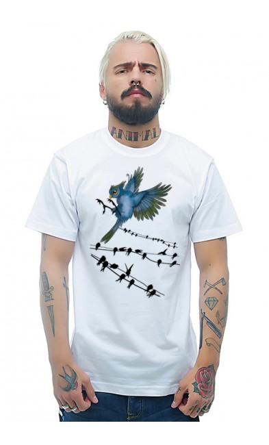 Мужская футболка Птицы