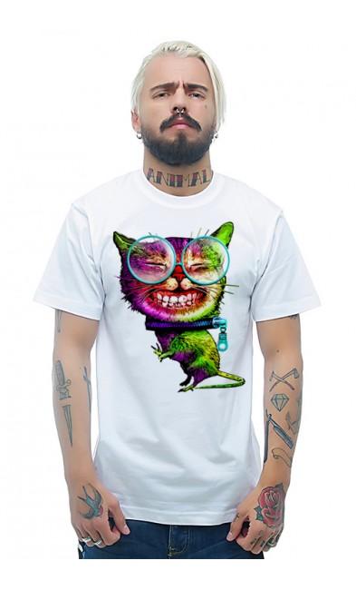 Мужская футболка Кот