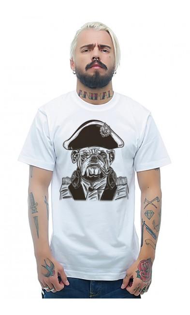Мужская футболка Пёс - Наполеон