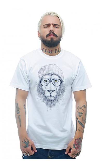 Мужская футболка Львица - бабушка