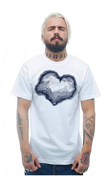 Мужская футболка Мечта в сердце