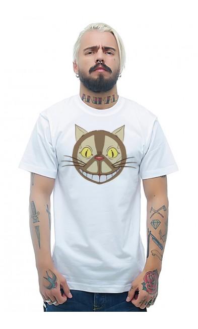 Мужская футболка Чеширский кот