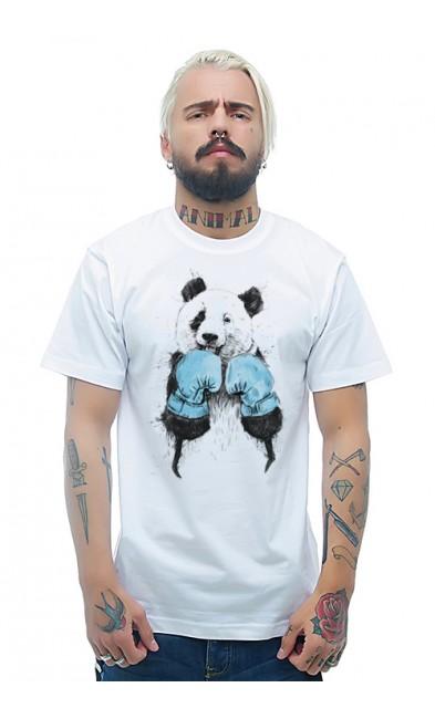 Мужская футболка Панда - боксер