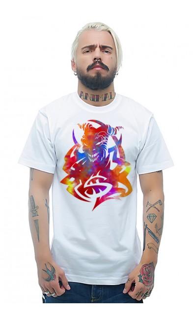 Мужская футболка Дьявол Во Мне