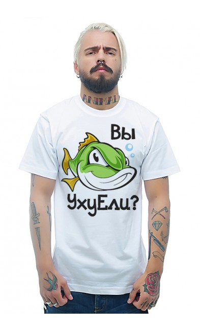 Мужская футболка Вы УхуЕли?