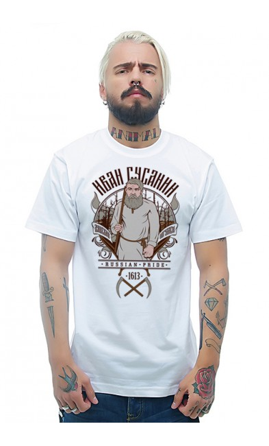 Мужская футболка Иван Сусанин