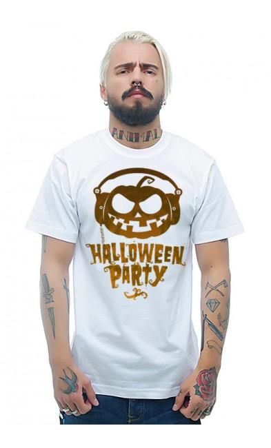 Мужская футболка HALLOWEEN PARTY