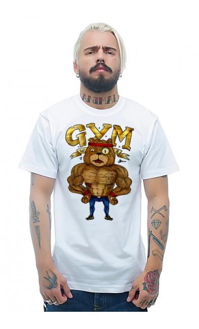 Мужская футболка GYM