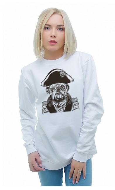 Женская свитшоты Пёс - Наполеон