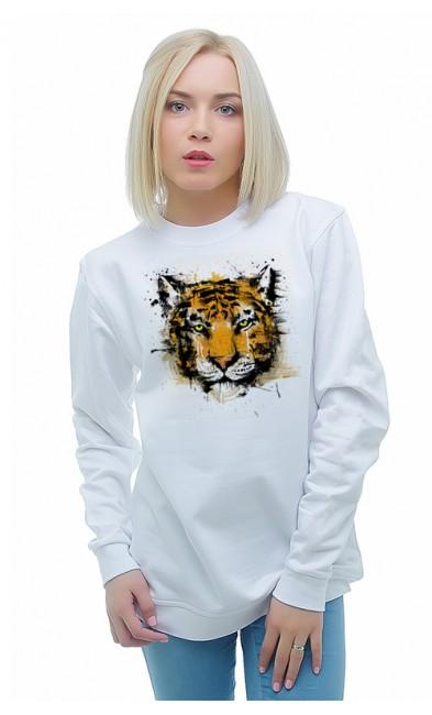 Женская свитшоты Тигр
