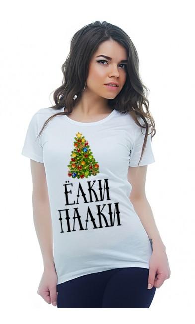 Женская футболка Ёлки-палки