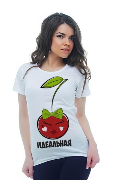 Женская футболка Идеальная пара