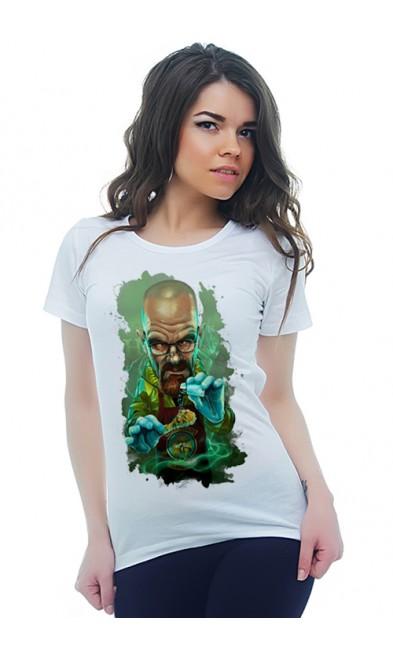 Женская футболка Маг